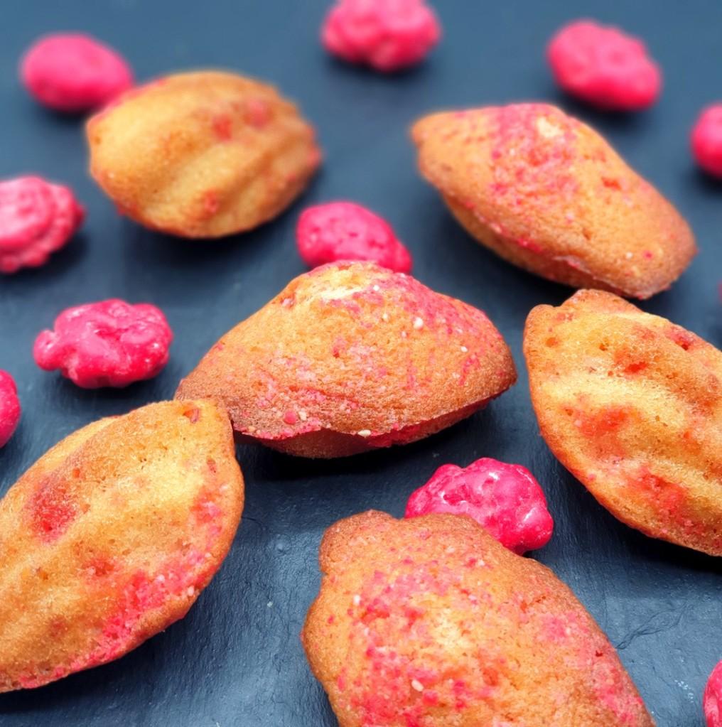 madeleines à la praline rose de Lyon