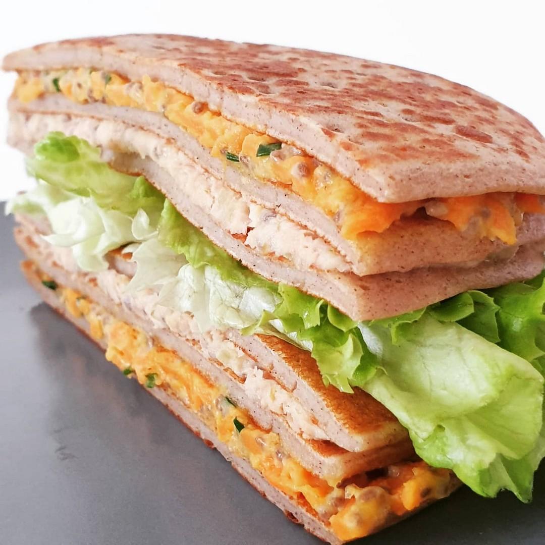 Le sandwich nordique by Ouest Delices